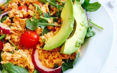 [RECIPE] Lemony Salmon Salad