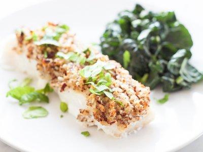 [RECIPE] Roasted Cod With Hazelnuts